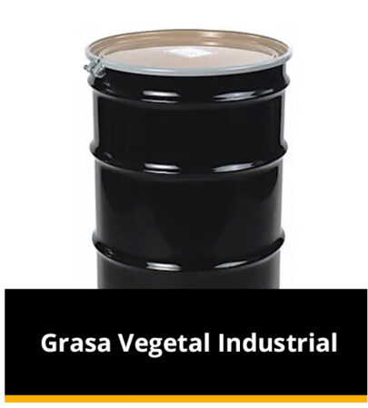 Grasa Vegetal Industrial
